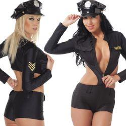 Agente uniform zwart