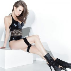 Wetlook play outfit