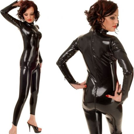 Latex dames catsuit