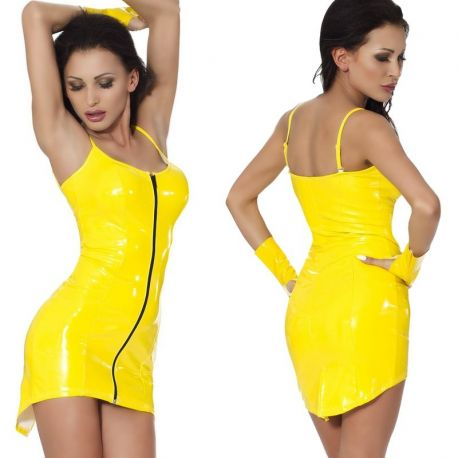 Datex jurkje met verstelbare schouderbandjes