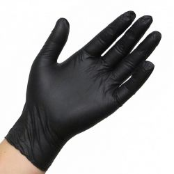Latex wegwerp handschoen