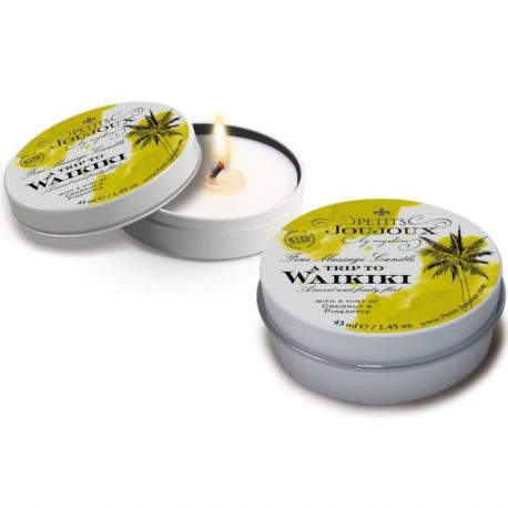 Massagekaars Een reis naar Waikiki