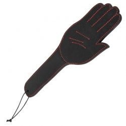 Paddle met hand