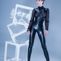 Wetlook legging glad
