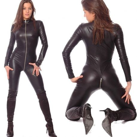 Wetlook catsuit