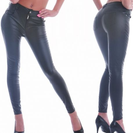 Leatherlook legging